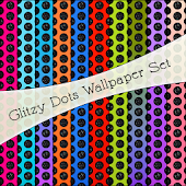WALLPAPER SET|GlitzyDots