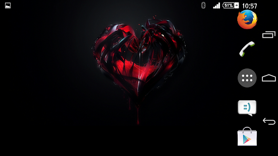 Theme eXPERIAnce Heart - screenshot thumbnail