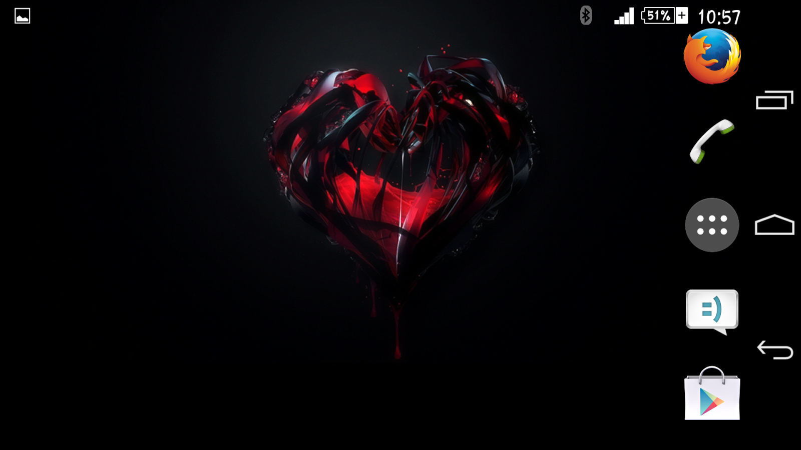 Theme Xperien Heart - screenshot