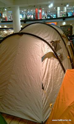Eureka Eurofamily Tunnelzelt für Familien | Camping