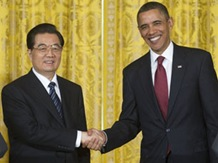 US-CHINA-DIPLOMACY-OBAMA-HU