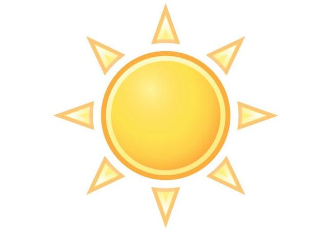 Dibujos Del Sol A Color: DIBUJOS DEL TIEMPO A COLOR