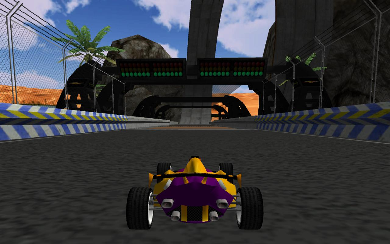 Speed on Racer 3D LITE - screenshot