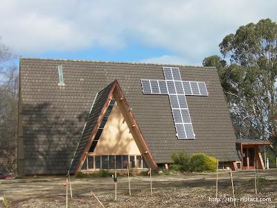 O'Connor uniting church solar panels