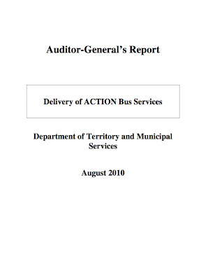 Audit report cover