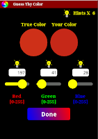 Screenshot of Guess Thy Color