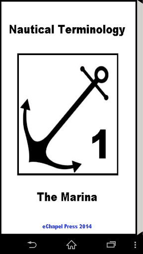 Nautical Terminology. A Marina