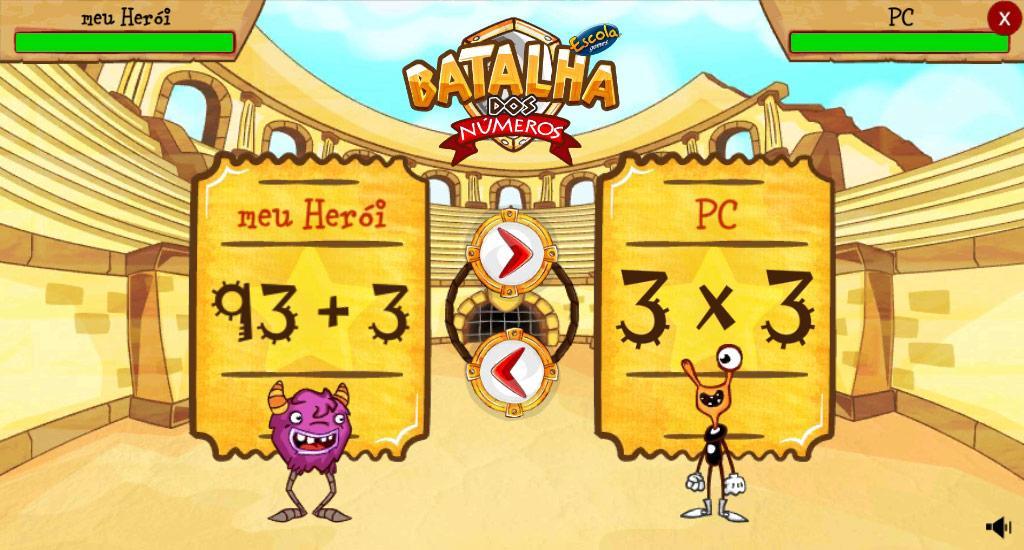 Batalha dos Números- screenshot