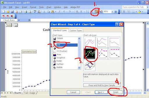 Tutorial Cara Menampilkan Kurva S Pada Microsoft Project 2007 Argajogja S Blog