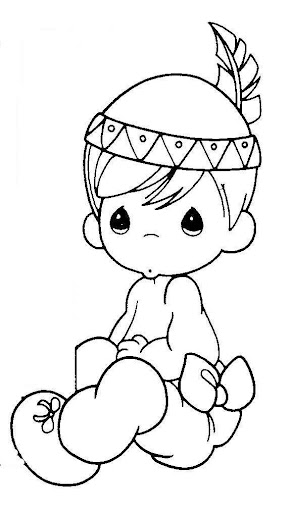 child warm in winter - precious moments coloring pages | Coloring ... | 512x290