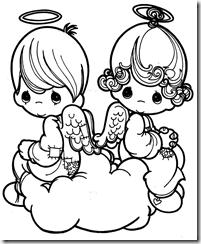 angel coloring pages precious moments | Angels Precious Moments coloring pages | Coloring Pages