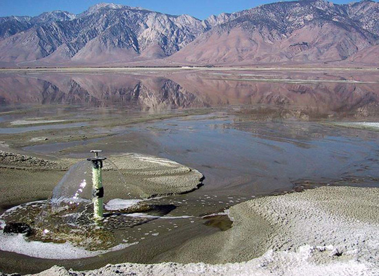 Owens Lake / Bubblers