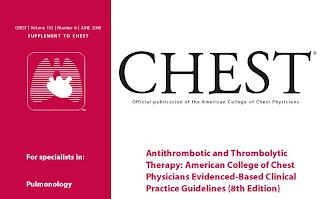 Рекомендации по Антитромбозной и Тромболитической Терапии от Американского Колледжа Торакальных Врачей
