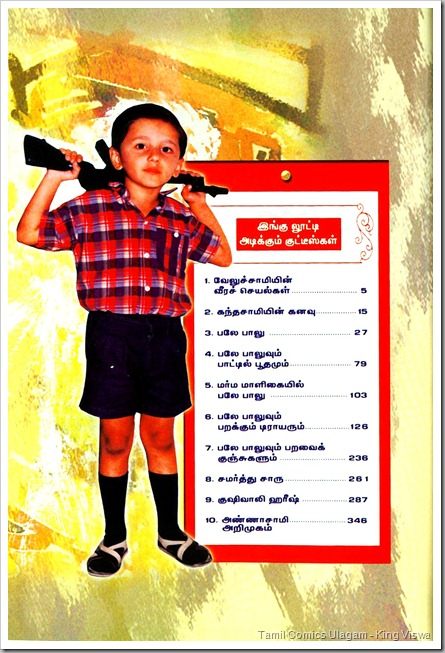 Marma Maligaiyil Baley Baalu Vaanumaama Collection 1 Index Page