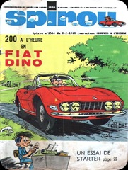 Spirou Cover Dated 8 Feb 1968