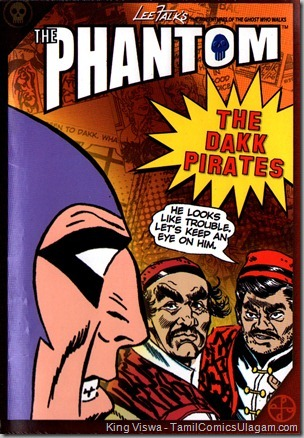 Euro Books Phantom Series Book No 1 The Dakk Pirates Cover