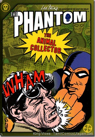 Euro Books Phantom Series Book No 8 The Animal Collector Cover