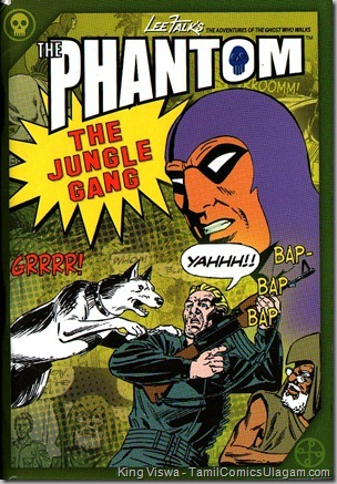 Euro Books Phantom Series Book No 22 The Jungle Gang Cover