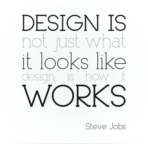Steve Jobs on Design via Pinterest
