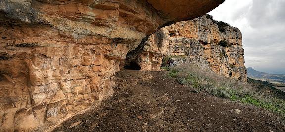 Espluga Grˆtines, roca de Canalda, Odn, Solsons, Lleida