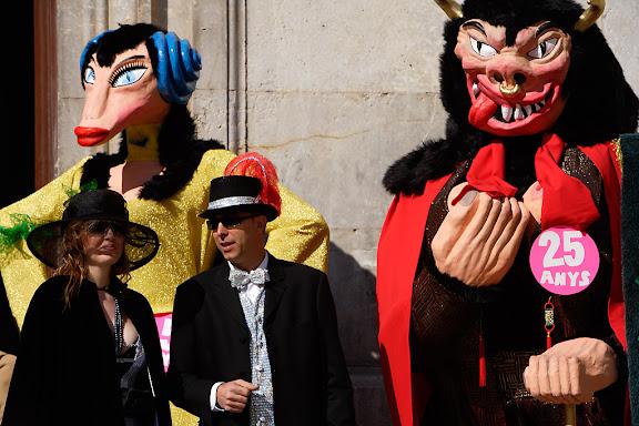 Carnaval de Tarragona, dimarts (21.02.2006)Plantada de la Bota i prensentació del Ninot i la NinotaEl rei Carnestoltes i la seva Concubina.25è aniversari de la recuperació del Carnaval de Tarragona