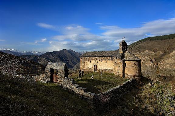 Ermita romànica de Santa Eulàlia, camí vell de Tírvia a Alendo, Farrera, Pallars Sobirà, Lleida