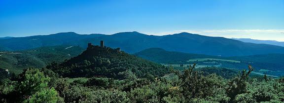 Castell de Saburella, muntanyes de Gaià, El Pont d'Armentera, Alt Camp, Tarragona 2001.11