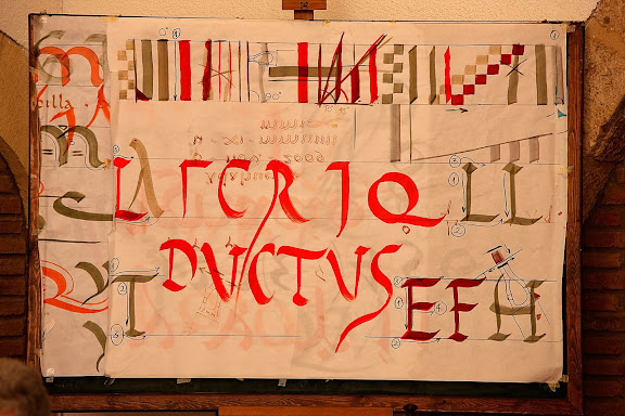 SCRIPTORIUM, taller d'escriptura romana. Tàrraco Viva, el festival romà de Tarragona. Tarragona, Tarragonès, Tarragona