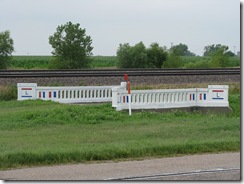 0738 Painted Concrete Lincoln Highway Bridge east of Overton NE