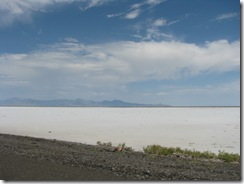 1940 Salt Flats as seen from I 80 west of Knolls UT