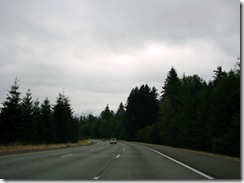 5148 Scenery along I-90 between Seattle & North Bend WA