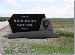 6627 Badlands National Park SD