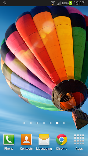 Galaxy S4 Balloon LWP HD v1.0 APK