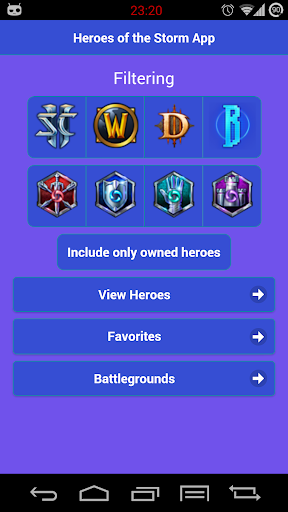 HoTS - Hero Companion