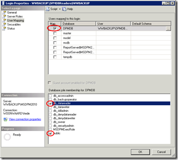 Reporting not working after reinstall DPM2010 | Fred Ebben