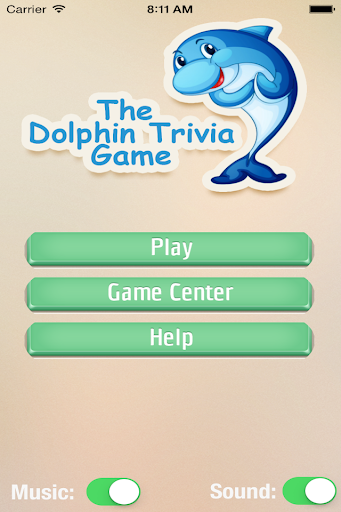The Dolphin Trivia Game 1.1 screenshots 1