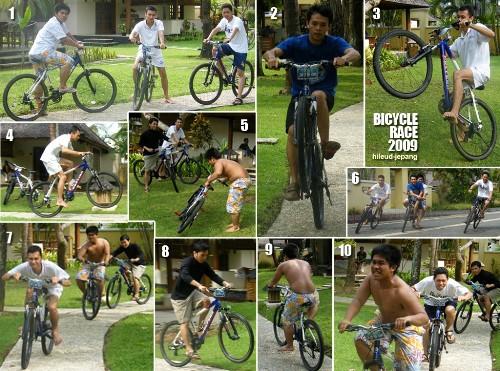 hileud jepang bersepeda