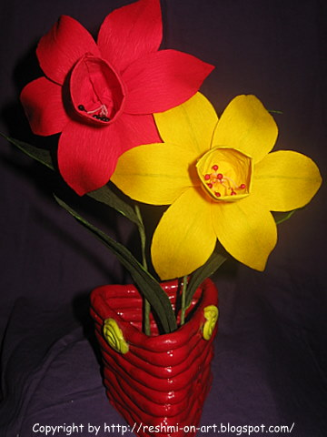 Duplex-Paper-Flowers-The-Daffodil-Flowers