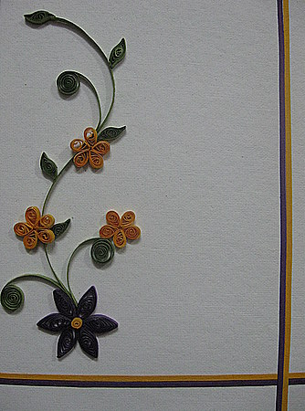 Quilling-paper-flower-pattern