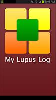 Screenshot of My Lupus Log