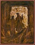 Giovanni Stradano (1523–1605). Virgilio y Dante traspasan el umbral de la entrada al infierno