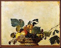 Cesta de frutas, por Caravaggio