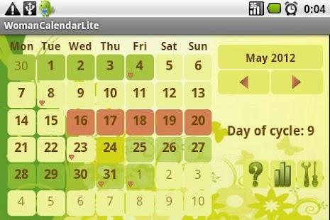 Kalendarzyk Menstruacyjny – miniaturka zrzutu ekranu