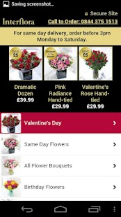 Interflora - Flowers Delivered- screenshot thumbnail