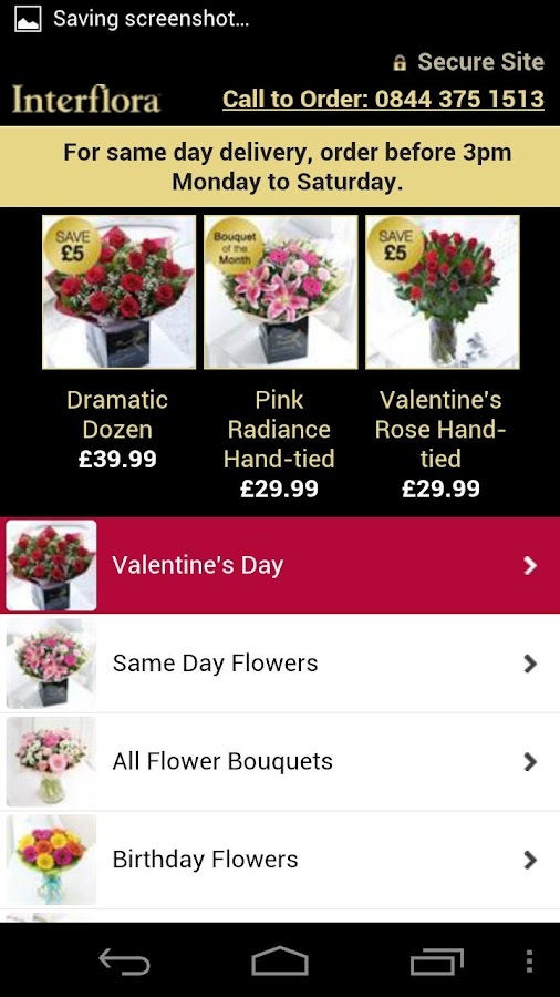 Interflora - Flowers Delivered - screenshot