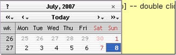 Coolest DHTML Calendar