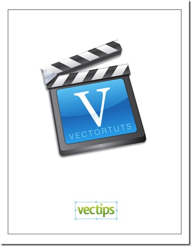 Vector Film Slate Icon