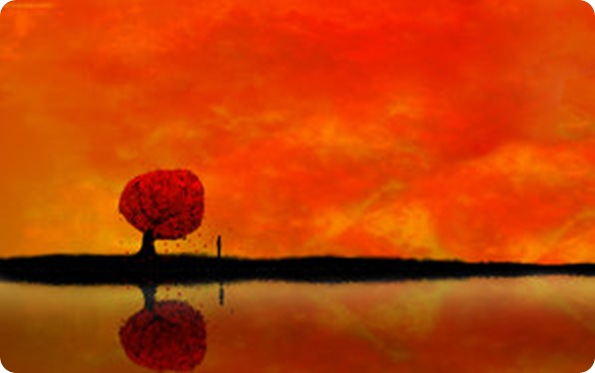 autumn_reflection_Widescreen_by_daewoniii