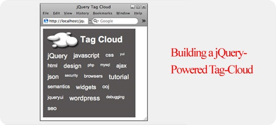 Building a jQuery-Powered Tag-Cloud