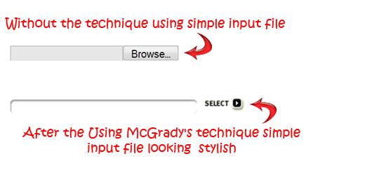 Styling-input-file
